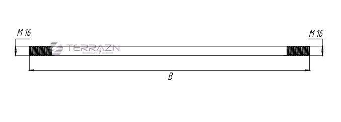 Штырь заземлителя - схема