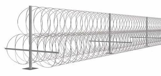 Спиральный барьер ЕГОЗА от ТерраЦинк