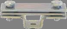 Держатель для полосы с двумя пластинами